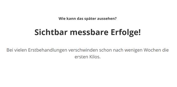 Fett Dauerhaft Verlieren, Kältebehandlung / Kryolipolyse in 70825 Korntal-Münchingen