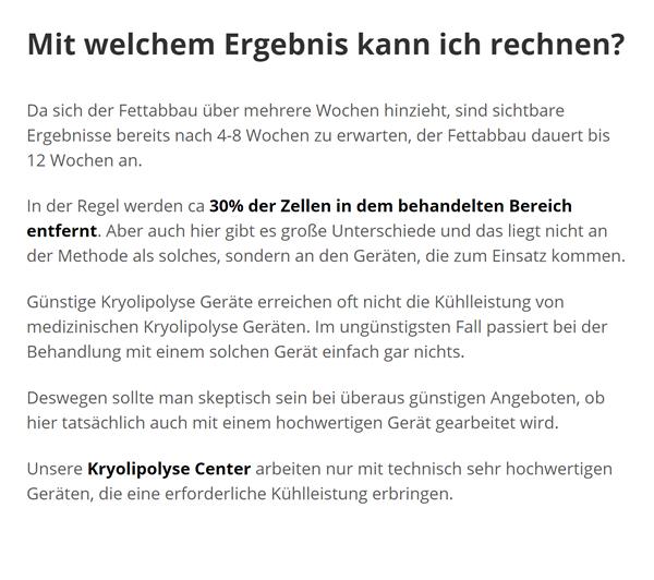 Fettabbau Kälte, Schönheitsoperation in  Magstadt